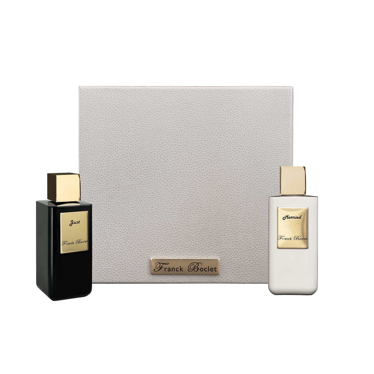 FRANCK BOCLET Box Just Married Extrait de Parfum 2 x 100 ml