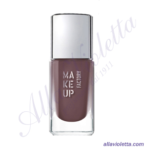 MAKE-UP FACTORY Nail Color 200 Purple Brown