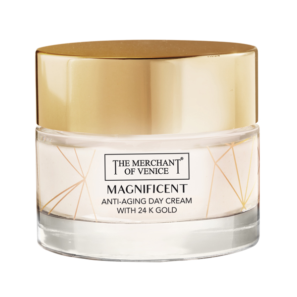THE MERCHANT OF VENICE Anti-Aging Crema Giorno con Oro 24K 50 ml