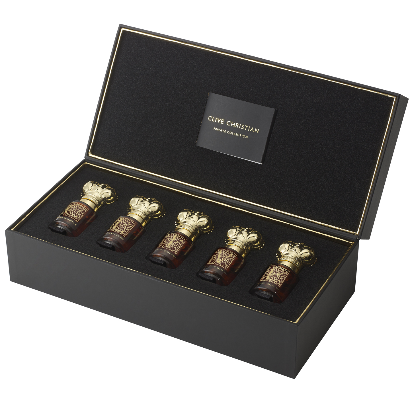 CLIVE CHRISTIAN Private Collection Masculine Edition gift set 5 x 10 ml