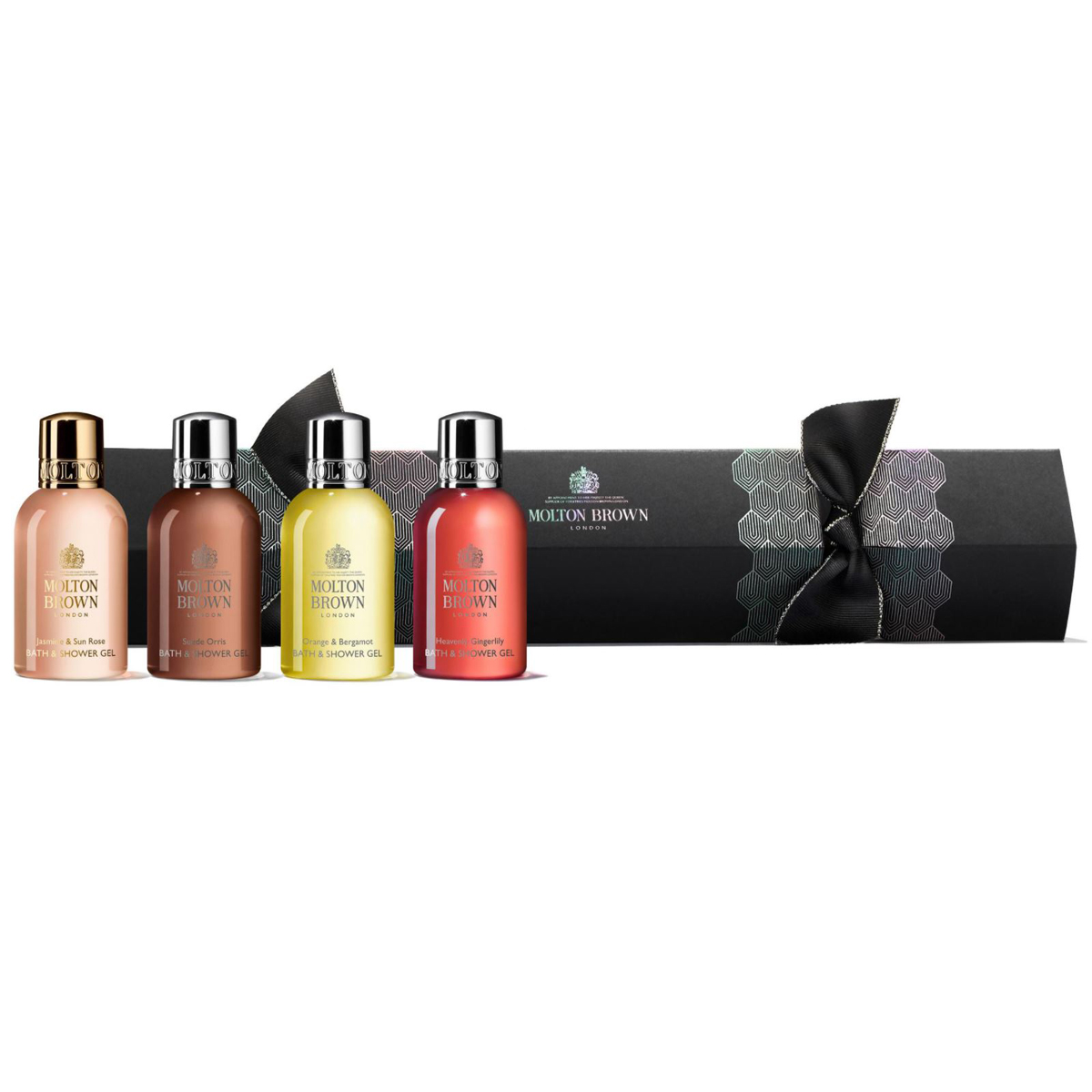 MOLTON BROWN Floral & Citrus Christmas Cracker 4 x 50 ml