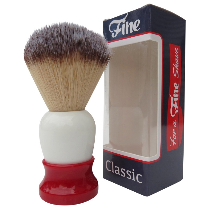 FINE ACCOUTREMENTS  Brush White/Red 20 mm