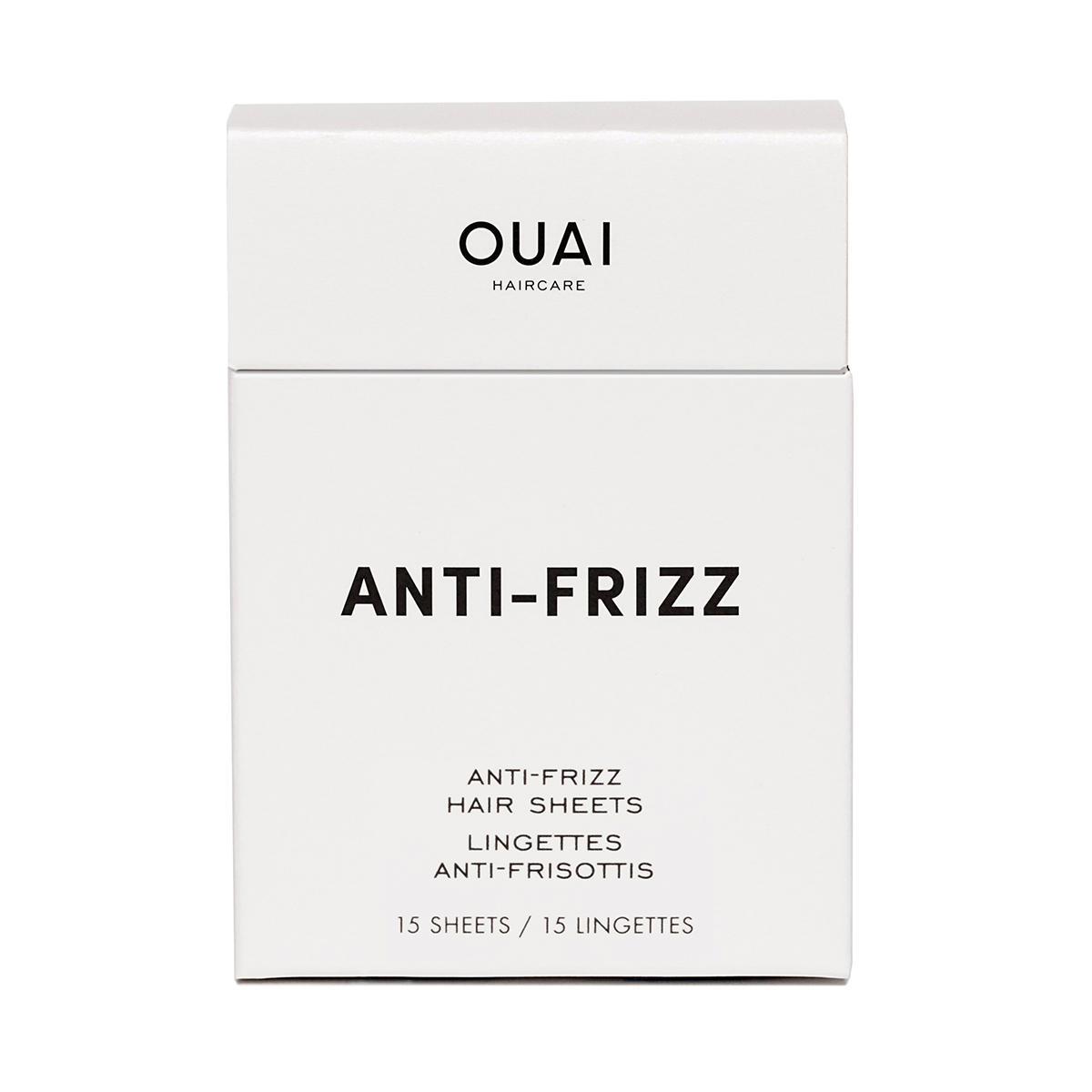 OUAI Anti-Frizz Sheets 15 pezzi