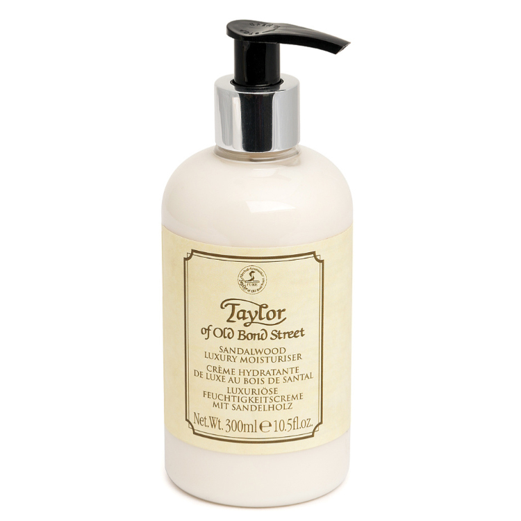 TAYLOR OF OLD BOND STREET Sandalwood Luxury Moisturiser Idratante 300 ml