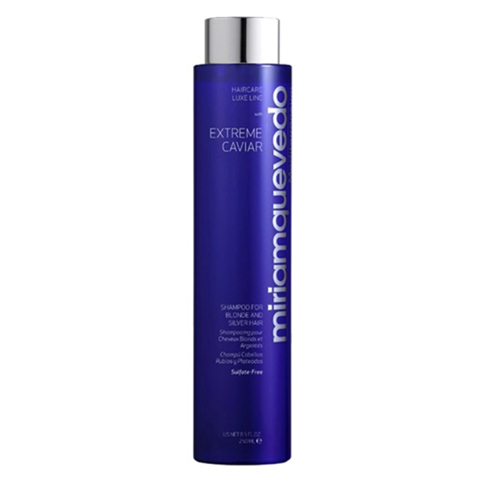 MIRIAMQUEVEDO Extreme Caviar Shampoo for Blonde and Silver Hair 250 ml
