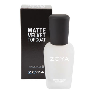 ZOYA Matte Velvet Top Coat 15 ml