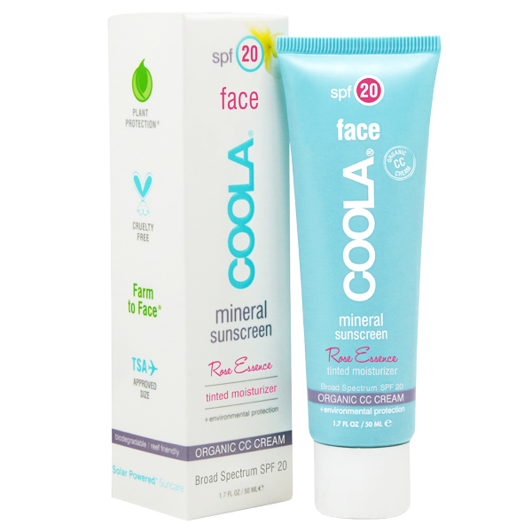 COOLA Mineral Face Spf 20 Lotion Tinted Rose Essence 50 ml