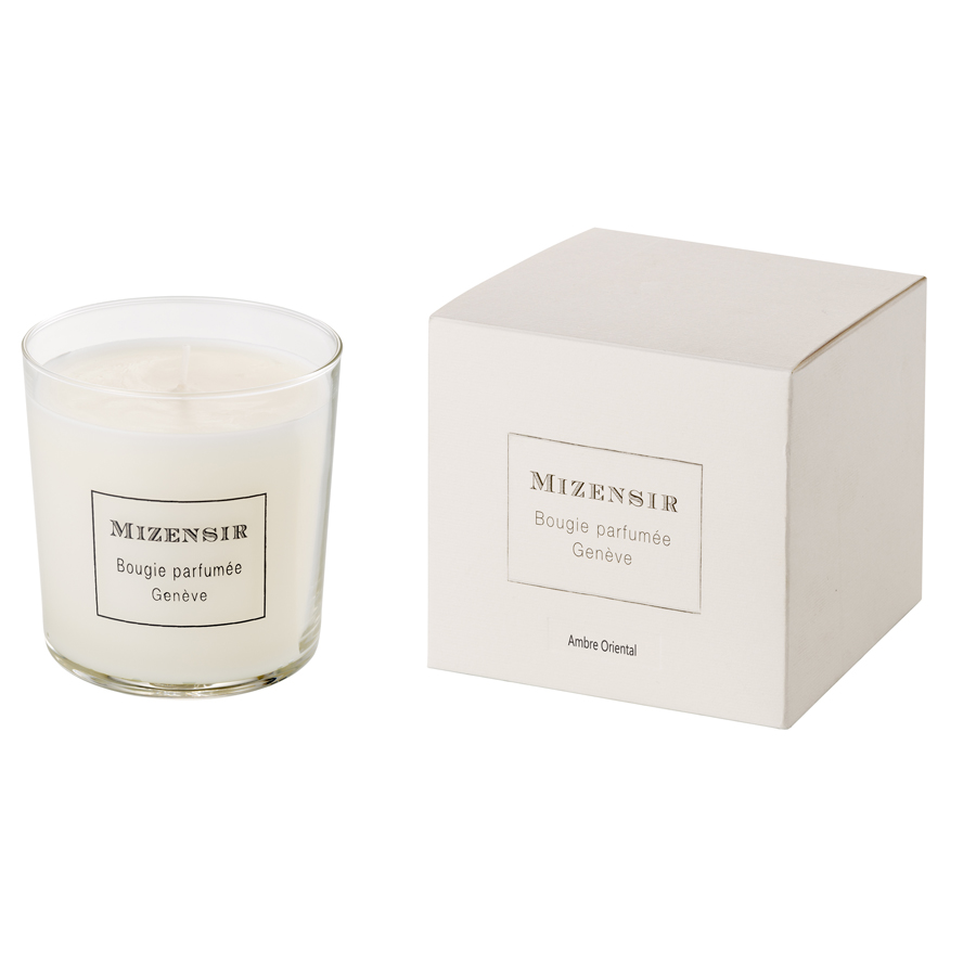 MIZENSIR Ambre Oriental Scented Candle 230 gr