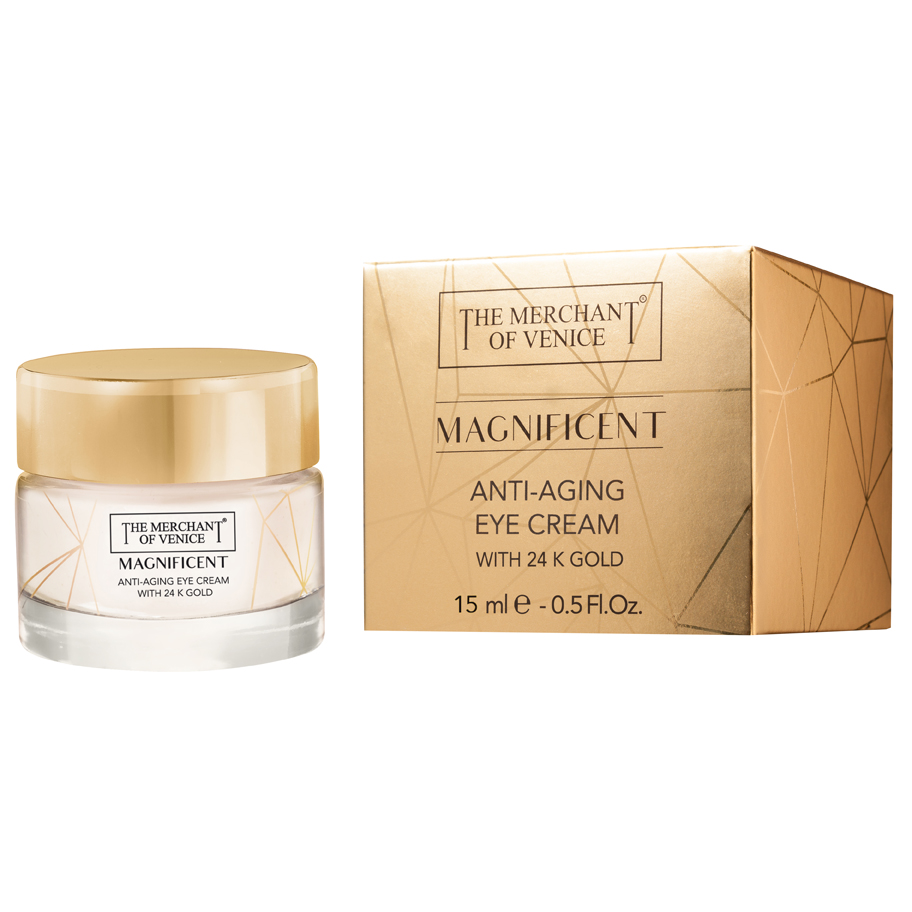 THE MERCHANT OF VENICE Anti-Aging Creme Contorno Occhi 24K 15 ml