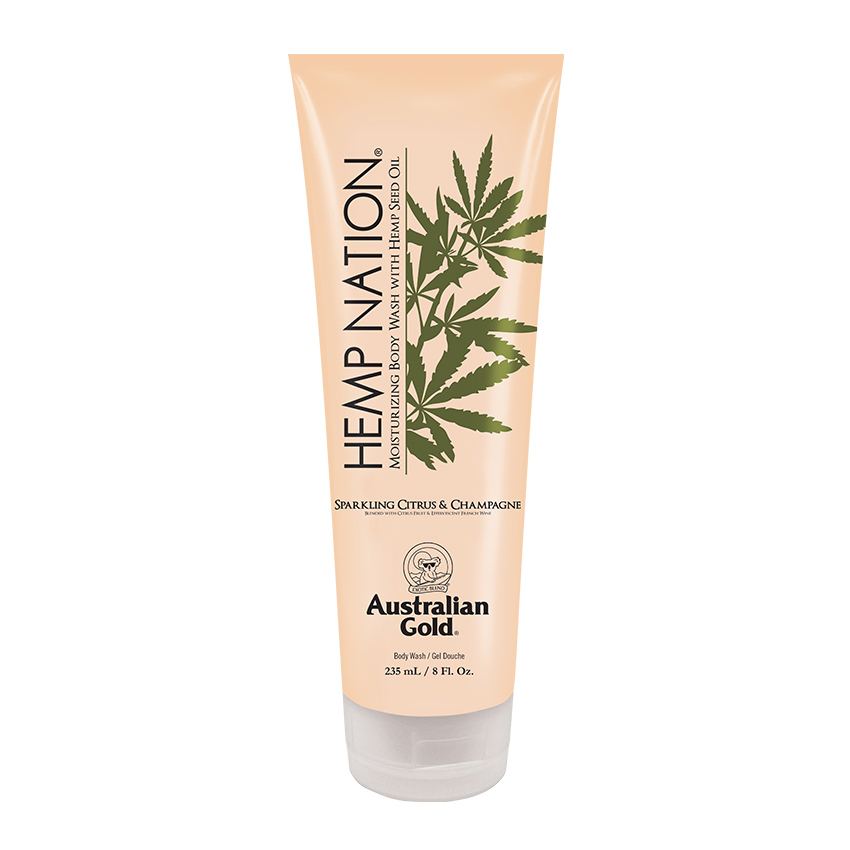 AUSTRALIAN GOLD Hemp Nation Sparkling Citrus & Champagne Body Wash 235 ml