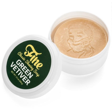FINE ACCOUTREMENTS  Shaving Soap Green Vetiver 100 gr