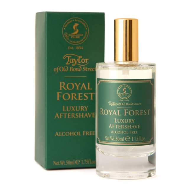 TAYLOR OF OLD BOND STREET Royal Forest Aftershave Luxury 50 ml
