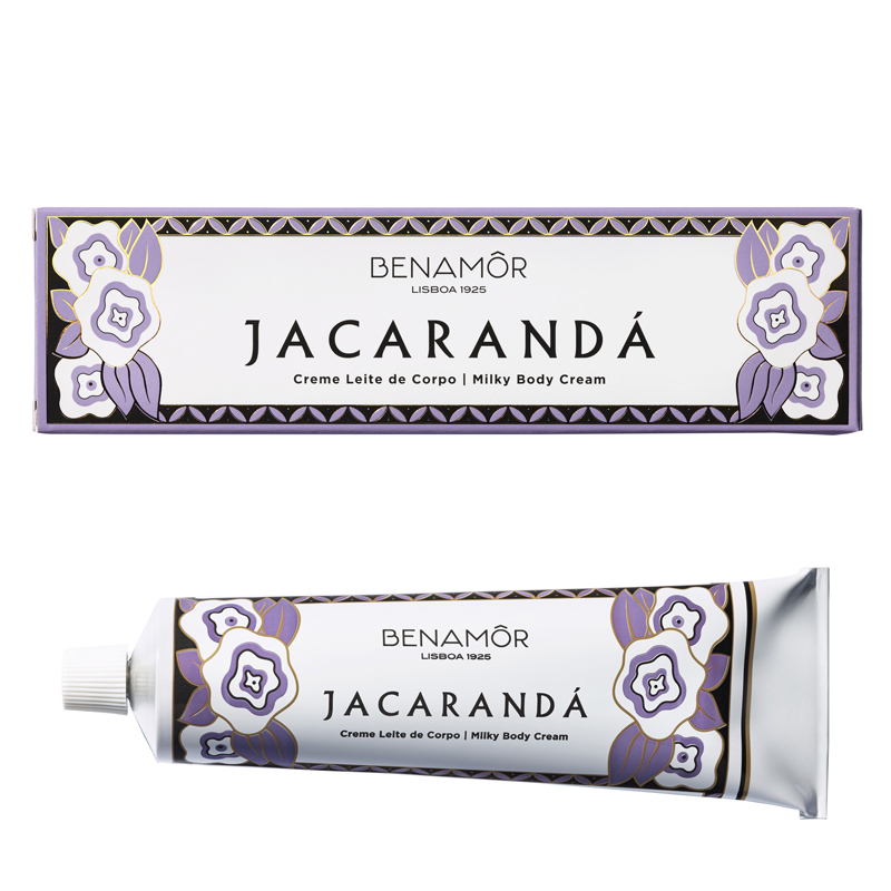 BENAMOR Jacaranda Milky Body Cream Tube 150 ml