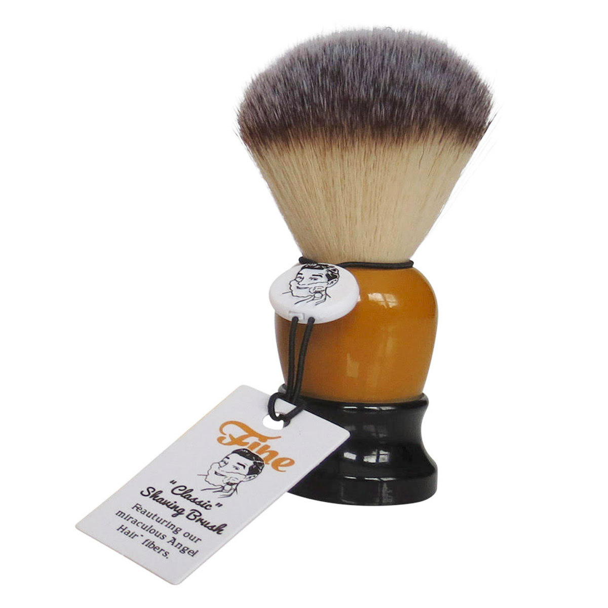 FINE ACCOUTREMENTS Brush Black/Orange 20 mm