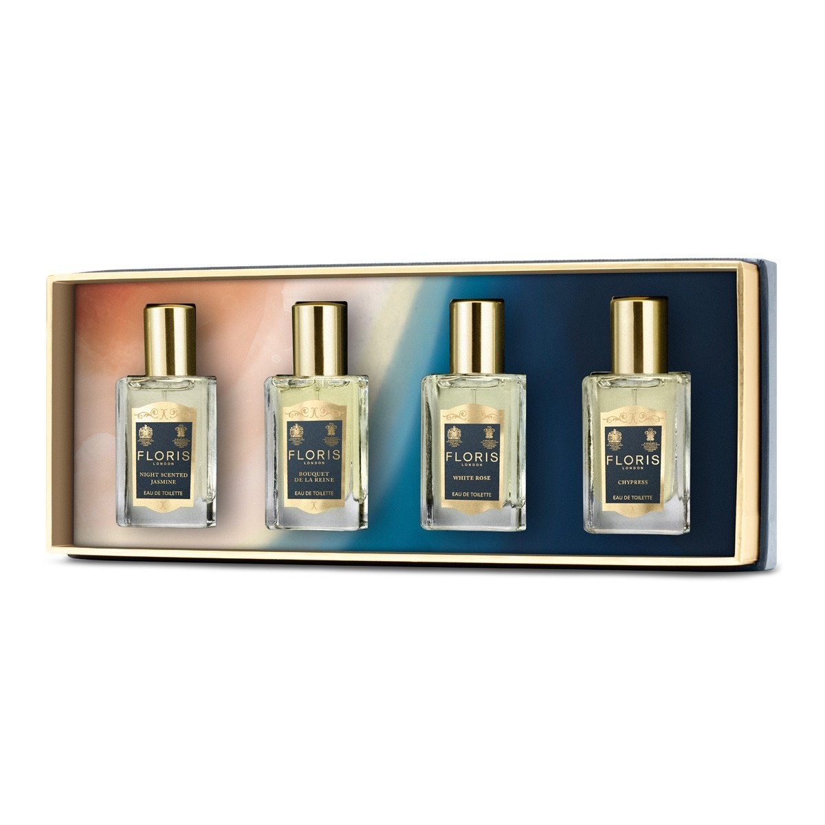 FLORIS LONDON Fragrance Travel Collection for Her EDT 4 x 14 ml