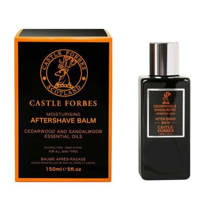 CASTLE FORBES Cedarwood & Sandalwood Aftershave balm 150 ml