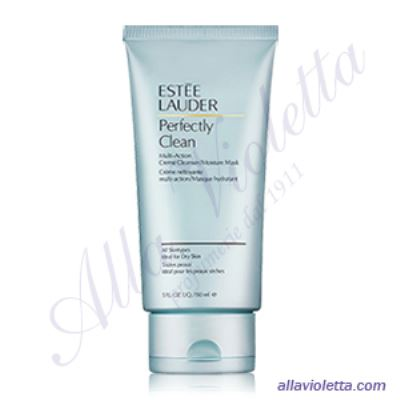 ESTEE LAUDER Perfectly Clean Multi-Action Creme Cleanser Moisture Mask 150ml