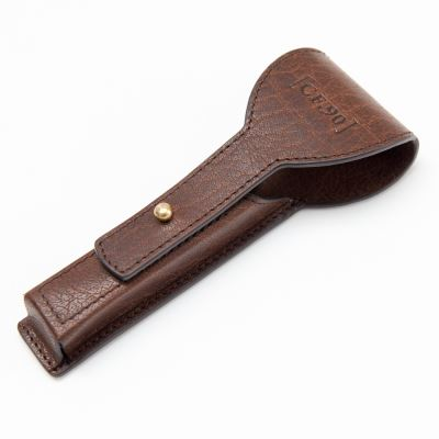 CAPTAIN FAWCETT Finest Hand Crafted Razor Leather Case
