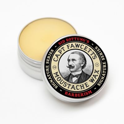 CAPTAIN FAWCETT Barberism for Sid Sottung Moustache Wax 15 ml