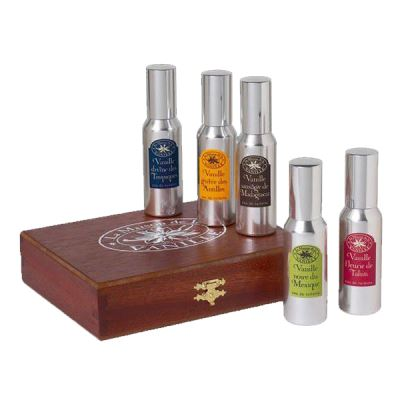 MAISON DE LA VANILLE  Vanille Coffret Luxury 5x30 ml