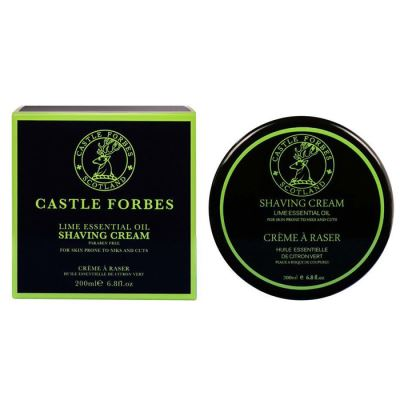 CASTLE FORBES Lime Shaving Cream 200 ml