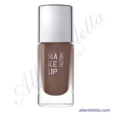 MAKE-UP FACTORY  Nail Color 212 Classy Brown