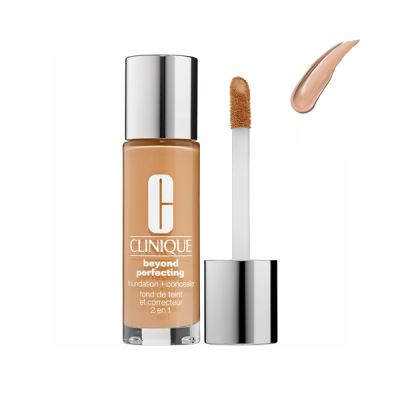 CLINIQUE  Beyond Perfecting Foundation/Concealer 7 Cream Chamois