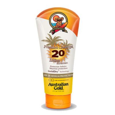 AUSTRALIAN GOLD Premium Coverage SPF 20 Lotion 177 ml