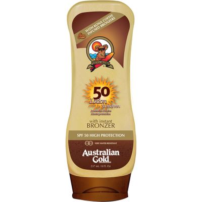 AUSTRALIAN GOLD  SPF50 Lotion with Bronzer 237 ml