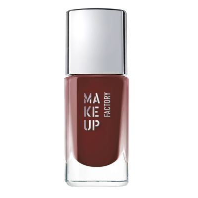 MAKE-UP FACTORY  Nail Color 470 Red Burgundy