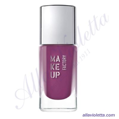 MAKE-UP FACTORY Nail Color 393 Star Purple