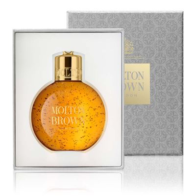 MOLTON BROWN  Christmas Baubles Oudh Accord and Gold Shower Gel 75 ml