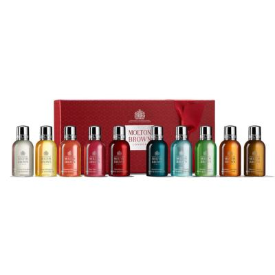 MOLTON BROWN Stocking Fillers Christmas Gift Collection Merry Christmas 10 x 50 ml