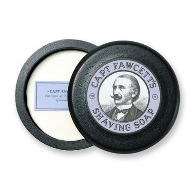 CAPTAIN FAWCETT Luxury Shaving Soap Wood Bowl 110 gr