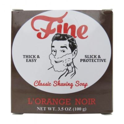 FINE ACCOUTREMENTS  Shaving Soap L orange Noir 100 gr